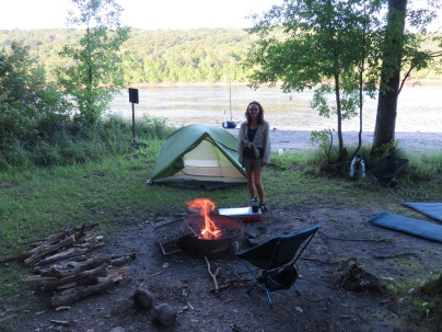 Our first camp on the River!