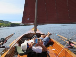 Few moments of relaxed sailing